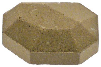 μπρικέτες κεραμικές Μ 54,5mm W 42,5mm H 27mm Ποσ. 126 τεμ.