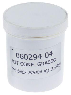 λιπαντικό μηχανής Mobilux EP004  δοχείο 500g  για κιβώτιο ταχυτήτων -25 έως +120°C
