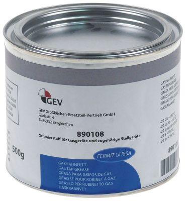 γράσο FERMIT  GLISSA  δοχείο 500g  -20 έως +150°C έγκριση DVGW