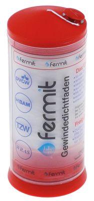 ταινία PTFE  FERMIT  δοχείο Μ 175m -200 έως +240°C έγκριση DVGW, KTW, WRC, UL