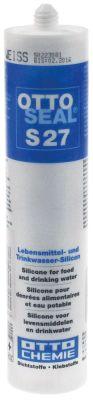 σιλικόνη S27  φύσιγγα 300ml λευκό
