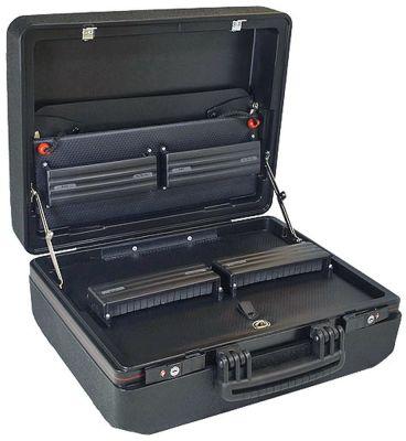θήκη εργαλείων μέγεθος 422x320x185mm  πλαστικό μαύρο  -