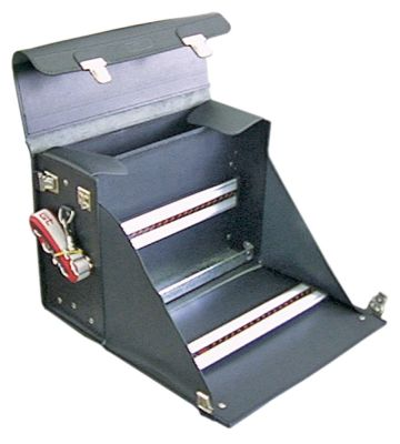 τσάντα εργαλείων δέρμα W 410mm D 180mm H 290mm