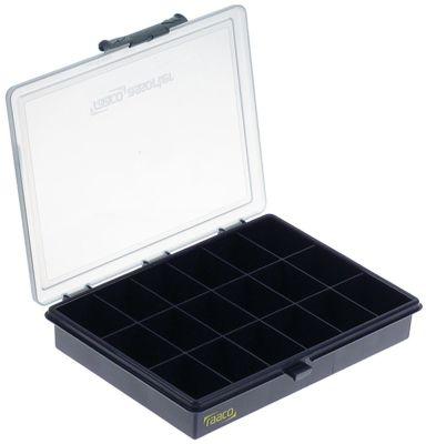 τσάντα G2-18  18 διαμερίσματα εξωτερικό μέγεθος 240x195x43 mm
