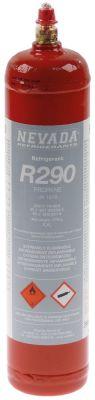 ψυκτικό NEVADA 370g έγκριση CE  ψυκτικό R290