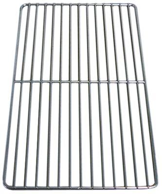 ράφι σχάρας W 325mm D 530mm GN 1/1  H 8mm ανοξείδωτος χάλυβας διατομή σύρματος πλαισίου 7mm