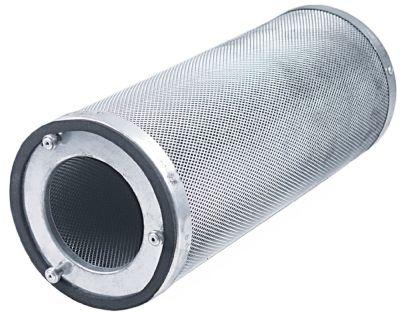 φίλτρο ενεργού άνθρακα διαστάσεις 160x400 mm χωρητικότητα 3kg απόσταση στερέωσης 114mm