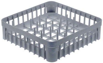 καλάθι πιάτων Μ 400mm W 400mm H 110mm τύπος πλέγματος με αραιό πλέγμα