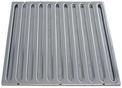 φίλτρο διαφράγματος για ηλεκτρικούς απορροφητήρες W 500mm H 500mm πάχος 20mm Ανοξείδωτο ατσάλι