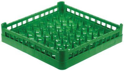 καλάθι πιάτων Μ 500mm W 500mm H 100mm ø πλάκας 43435mm πλαστικό