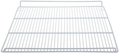 grate W 500mm D 420mm H 40mm plastic-coated steel wire gauge frame 6mm lengthwise wires gauge 2,7mm