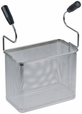 καλάθι ζυμαρικών H1 232mm Π1 163mm Μ1 290mm H2 405mm ανοξείδωτος χάλυβας με 2 λαβές