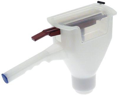 δοχείο σος λευκό πλαστικό