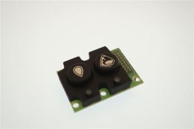 συνδυασμένοι διακόπτες PULSANTIERA TO-ZOE 2 TAS.2 LED.BIANCHI