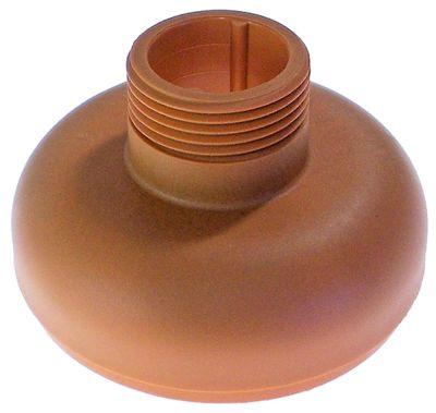 φλάντζα για μπλέντερ χειρός ø 125mm H 80mm για συσκευή 350VV/450VV/650VV κόκκινο