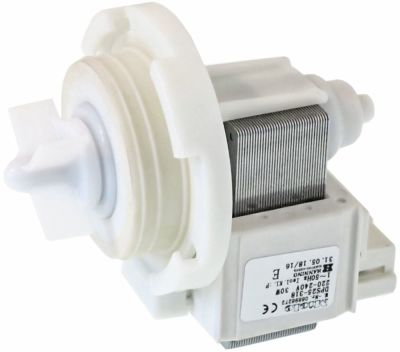 drain pump for washing machine suitable for MIELE 6696272 30W 220/230V type DPS25-318