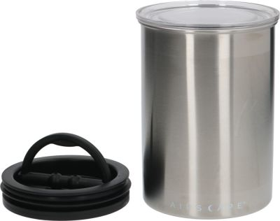 coffee beans container capacity 1,8l ø 120mm H 180mm stainless steel
