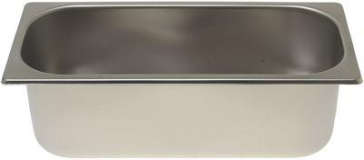 δοχείο πάγου ICE CREAM PAN S/STEEL 360x165xh120 mm