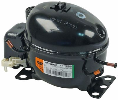 συμπιεστής ψυκτικό R404A  τύπος EMT2117GK 220-240 V 50Hz LBP  7,8kg 42826HP