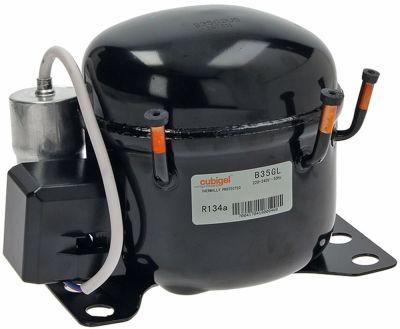 συμπιεστής ψυκτικό R134a  τύπος 220-240 V 50Hz HMBP  6kg 1/10HP χωρητικότητα κυλίνδρου 3.5cm³