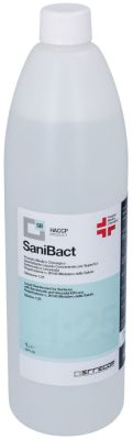 disinfectant SANIBACT 1l concentrate mixing ratio 1:25 Dilution max. up to 25l