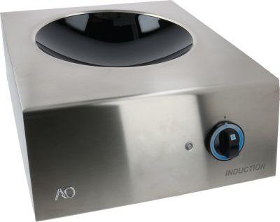 επαγωγική κουζίνα INDUCTION HOB WOK SUPPORT 5000W 400V