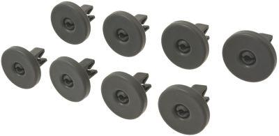 roller set Qty 8 pcs for warewashing basket lower ø 40mm suitable for ZANUSSI 50286965004