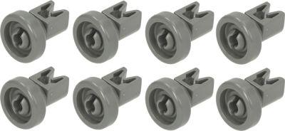 roller set for warewashing basket upper suitable for  50286967000 ø 25mm Qty 8 pcs