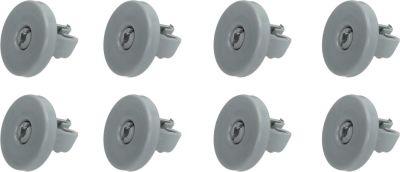 roller set Qty 8 pcs for dishwasher for AEG ELECTROLUX ZANUSSI 50286965004