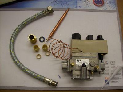 θερμοστατική βαλβίδα αερίου