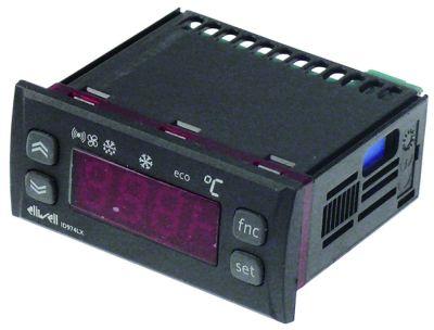 ηλεκτρονικός ελεγκτής ELIWELL  τύπος ID974LX  μετρήσεις στερέωσης 71x29 mm 230V τάση AC