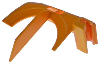υαλοκαθαριστήρας για αποχυμωτή αριστερά Μ 125mm W 100mm H 60mm