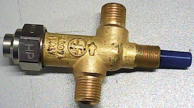βαλβίδα ασφαλείας στήριξη εμπρός, M12x1 εύρος πίεσης 5bar είσοδος αερίου 1/4″