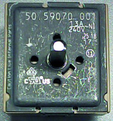 ζημενστάτης EGO  240V 13A μονού κυκλώματος